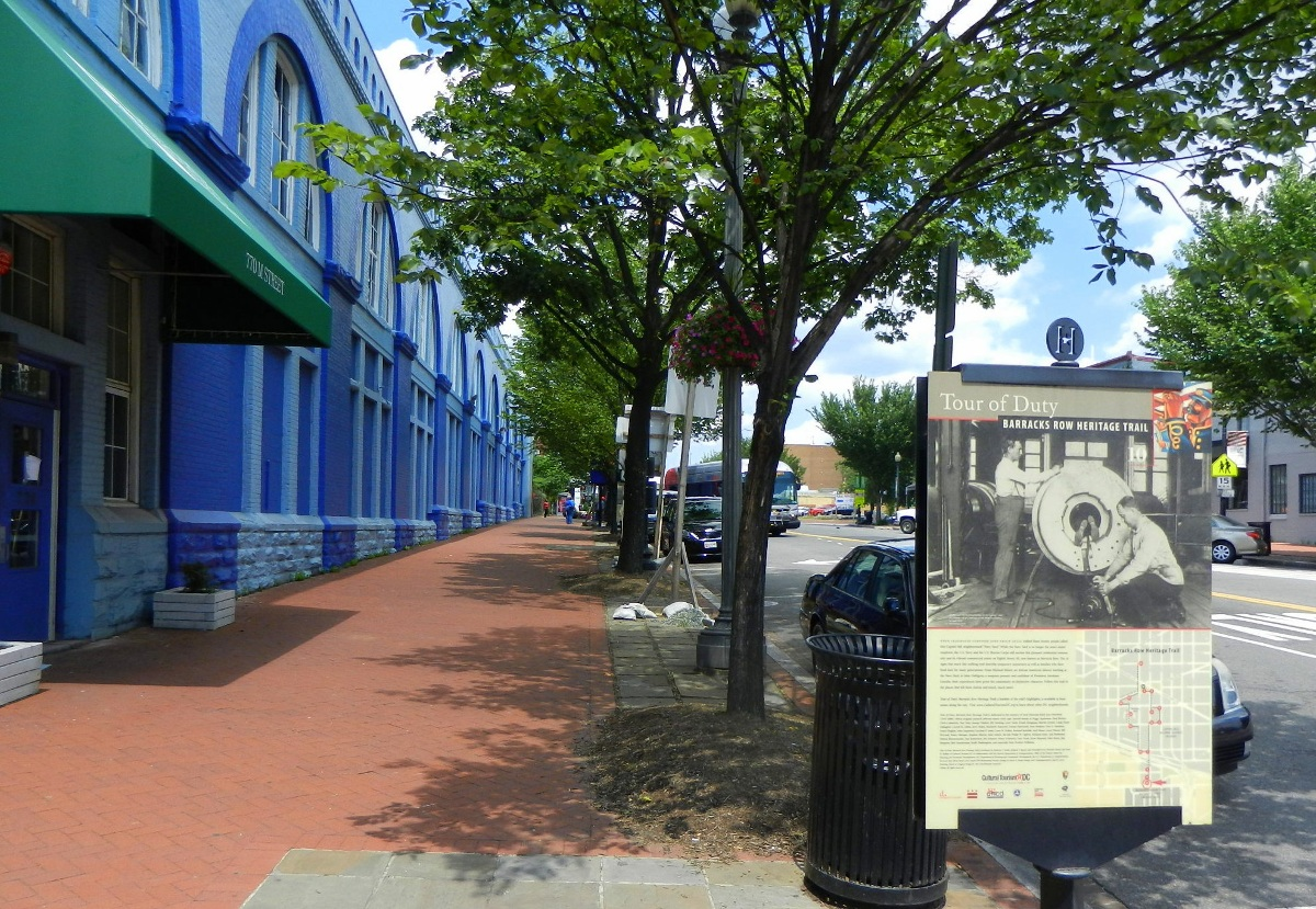 Barracks Row Heritage Trail