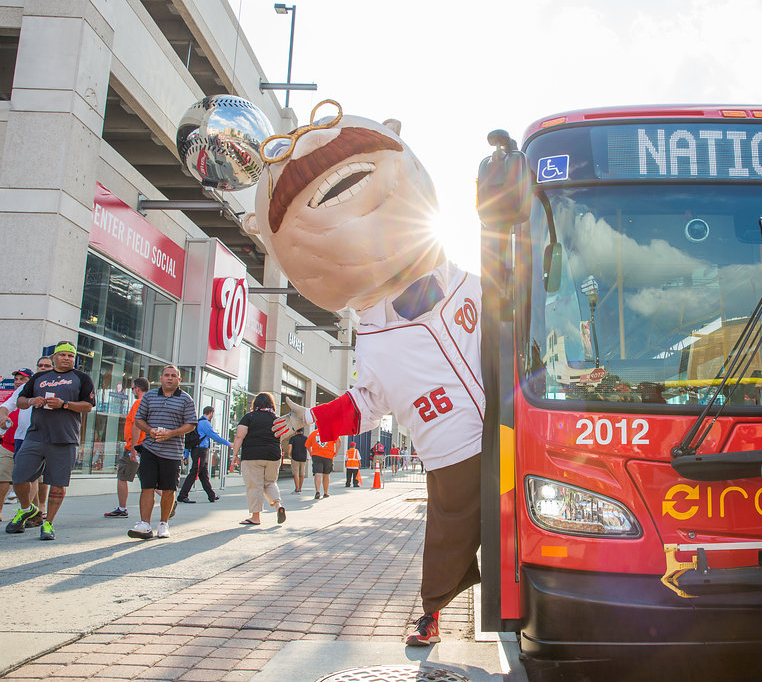 Getting to Nats Park